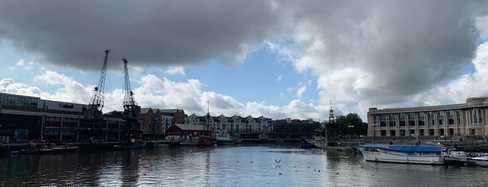 Harbourside is one of Bristol, May 2014.