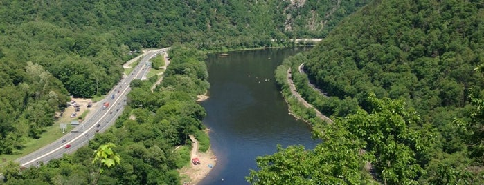 Appalachian Trail Water Gap Point is one of NYC-Toronto Road Trip.