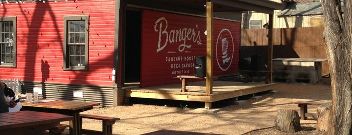 Banger's Sausage House & Beer Garden is one of Places to eat.