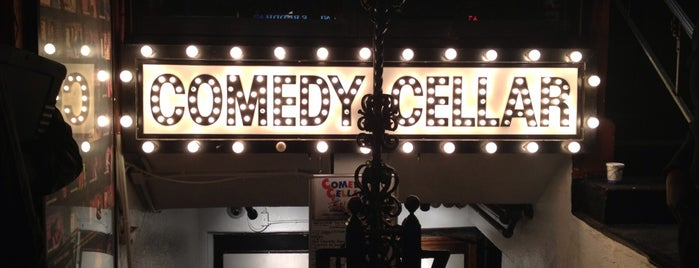 Comedy Cellar is one of New York🗽🌃.