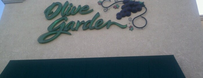 Olive Garden is one of Keeping Tabs.