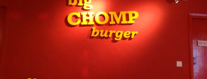 Big Chomp Burger is one of Burgers To Kill For.