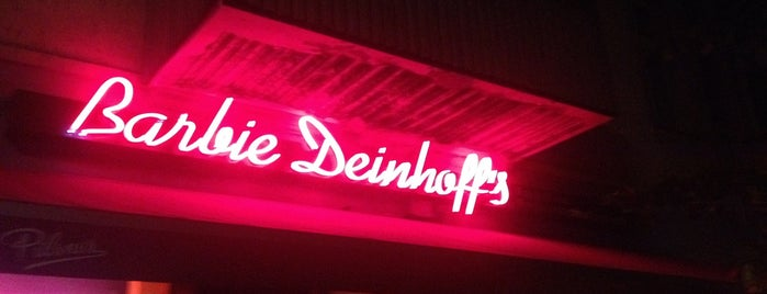 Barbie Deinhoff's is one of Berlin.
