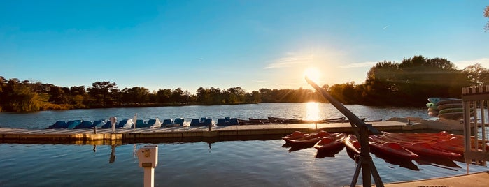 Boathouse at Forest Park is one of STL.
