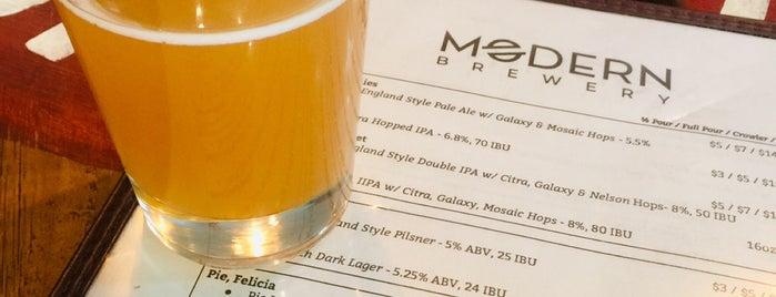 Modern Brewery is one of สถานที่ที่ Josh ถูกใจ.