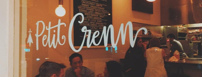 Petit Crenn is one of The 38 Essential SF Restaurants, Winter.