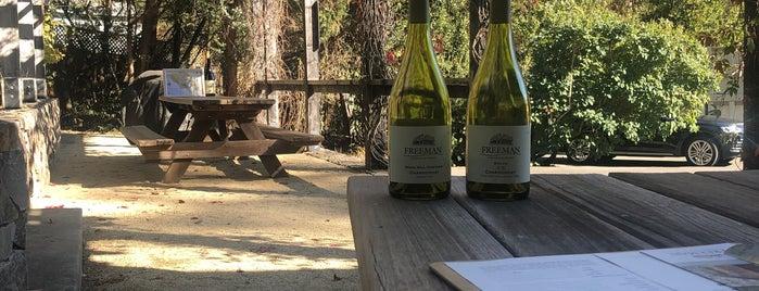 Freeman Vineyard & Winery is one of Wineries.