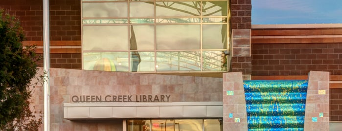 Queen Creek Library is one of สถานที่ที่ Kimmie D ถูกใจ.