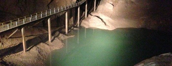 Новоафонская пещера | ახალი ათონის მღვიმე | New Athos Cave is one of Lugares guardados de Kate.