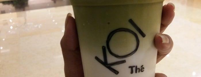 KOI Café is one of Lieux qui ont plu à Hana.