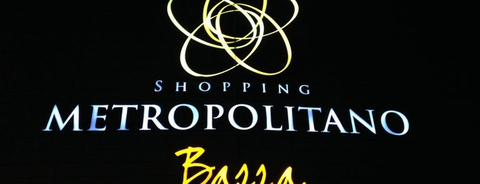 Shopping Metropolitano Barra is one of สถานที่ที่ Marcello Pereira ถูกใจ.