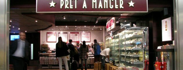 Pret A Manger is one of Lieux qui ont plu à Henry.