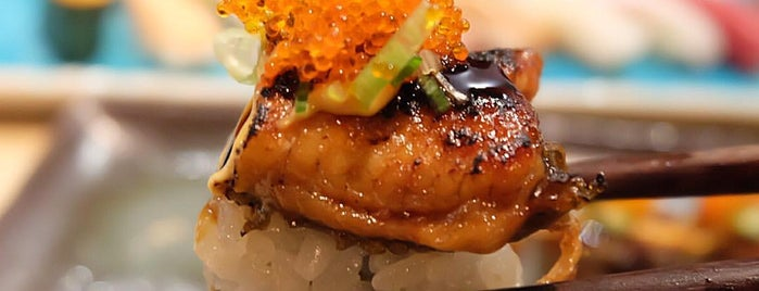 Obon - Sushi & Udon is one of Lugares favoritos de Bahar.