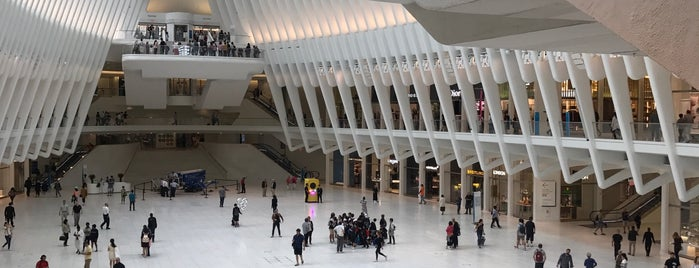 Oculus Plaza is one of New York City.