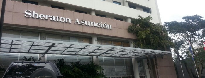 Sheraton Asunción Hotel is one of Locais salvos de Ana.