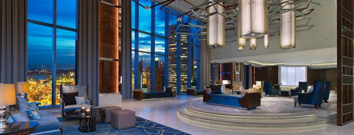 The Westin Singapore is one of Lugares favoritos de Ian.