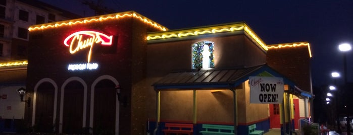 Chuy's Tex-Mex is one of Raleigh Favorites.