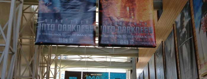 Wells Fargo IMAX Theatre at Marbles is one of RDU Baton - Raleigh Favorites.