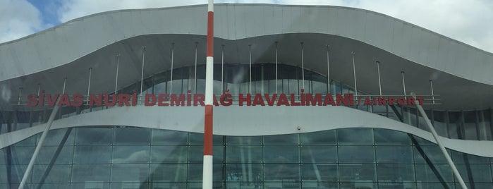 Sivas Nuri Demirağ Havalimanı (VAS) is one of Havalimanları.