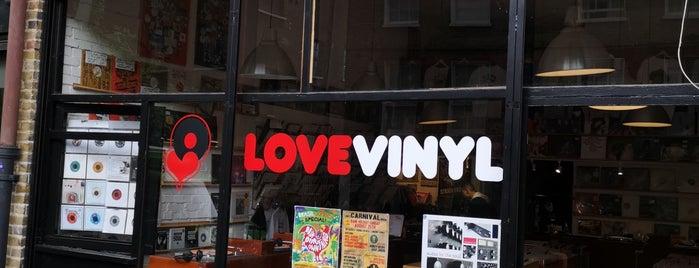 Love Vinyl is one of Vinyl Shops.