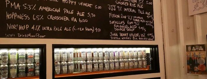 Moor Beer Company Vaults is one of Locais curtidos por Carl.