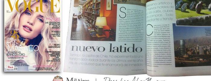MilAires Boutique De Libros is one of SANTIAGO LOKO.