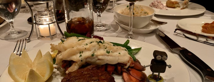 Hy's Steakhouse is one of Whistler, BC.