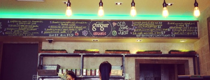 Ginger Organic is one of BORO Jan.
