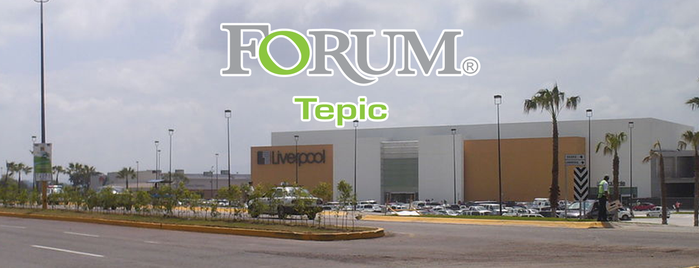 Forum Tepic is one of Locais curtidos por Gaston.