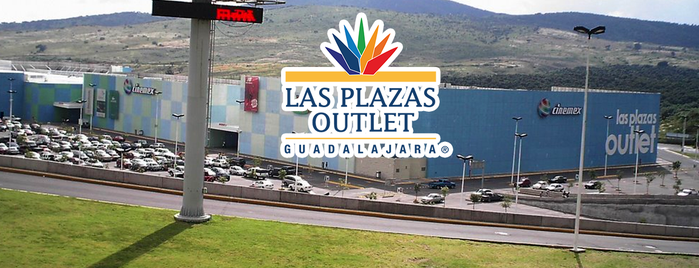 Las Plazas Outlet Guadalajara is one of Locais curtidos por Vanessa.
