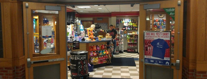 Hawk Shop is one of Campus Dining.