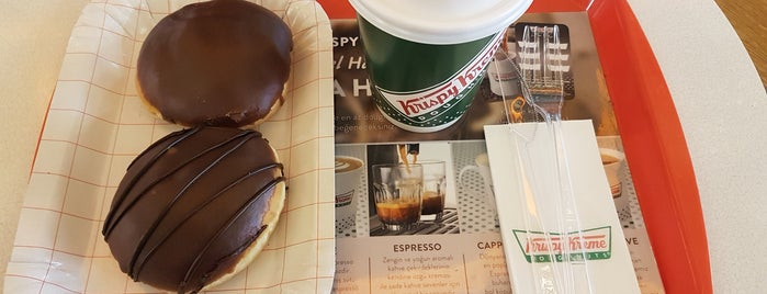 Krispy Kreme is one of Altuğさんのお気に入りスポット.