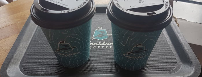 Caribou Coffee is one of Tempat yang Disukai Altuğ.