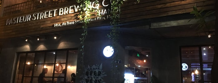 Pasteur Street Brewing Company is one of Hanoi.