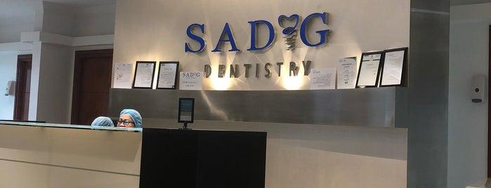 Sadig Dental Clinics is one of اسنان.