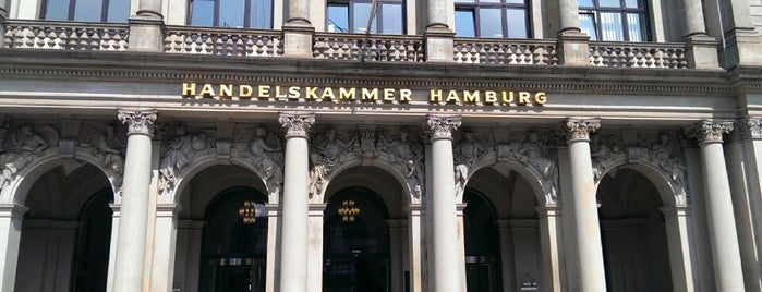 Handelskammer Hamburg is one of Hamburg.
