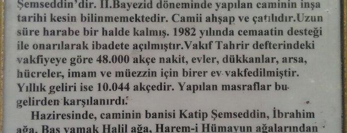 Katip Şemseddin Camii (Cankurtaran Mescidi) is one of 1-Fatih to Do List | Spiritüel Merkezler.