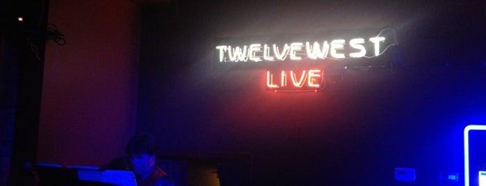 Twelve West nightclub is one of United Mileage Plus Dining Spots.