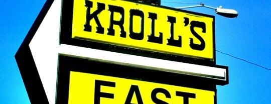 Kroll's East is one of Nice gems outside.
