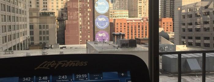 Chicago Downtown Marriott Fitness Center is one of Gespeicherte Orte von Vanny.