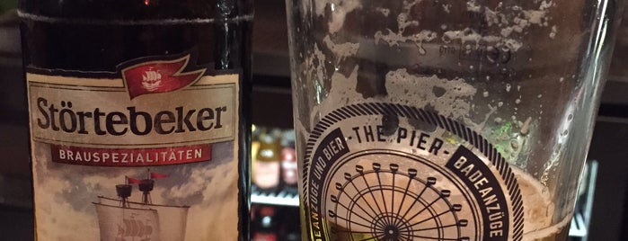 The Pier is one of Berliner Bier.