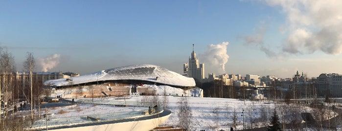 Парк «Зарядье» is one of Olga : понравившиеся места.