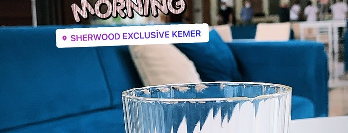 Sherwood Exculsive Kemer is one of Damla : понравившиеся места.