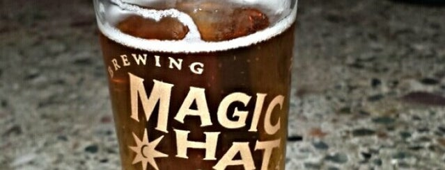 Magic Hat Brewing Company is one of New England Breweries.