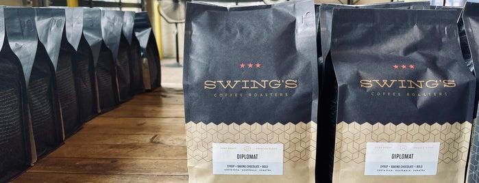 Swing's Coffee Roasters is one of Do: dmV ☑️.