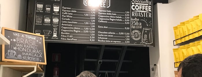 Virgin Coffee is one of Sevilla.