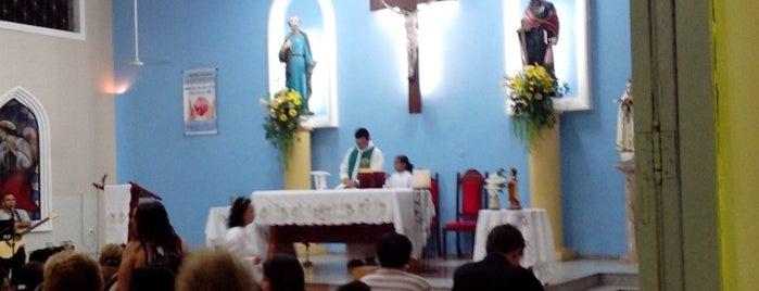Paróquia São Pedro e São Paulo is one of Arquidiocese de Fortaleza'nın Kaydettiği Mekanlar.