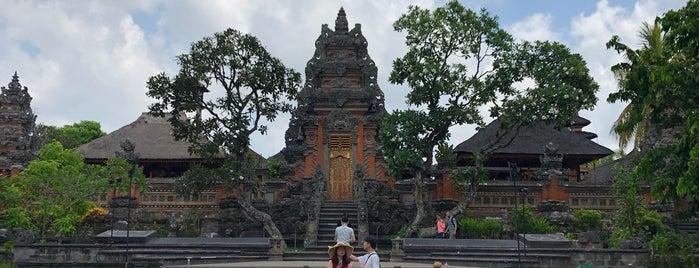 Pura Taman Kemuda Saraswati is one of Enjoy Bali Ubud.
