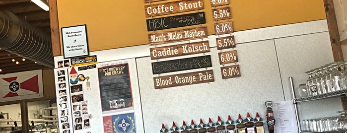 Hopping Gnome Brewing Company is one of Lugares guardados de Kyle.