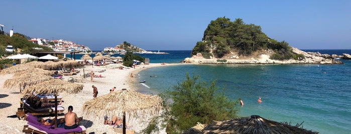 Mikra Lemonakia Beach is one of Samos.